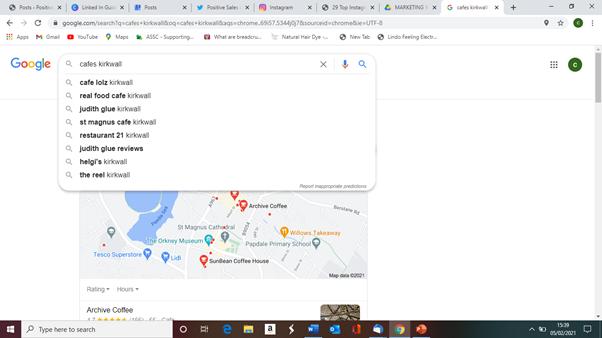 Using Google Autosuggest