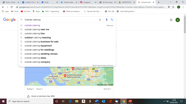 Use search for blog topic ideas