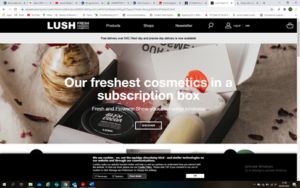 Lush Call To Action