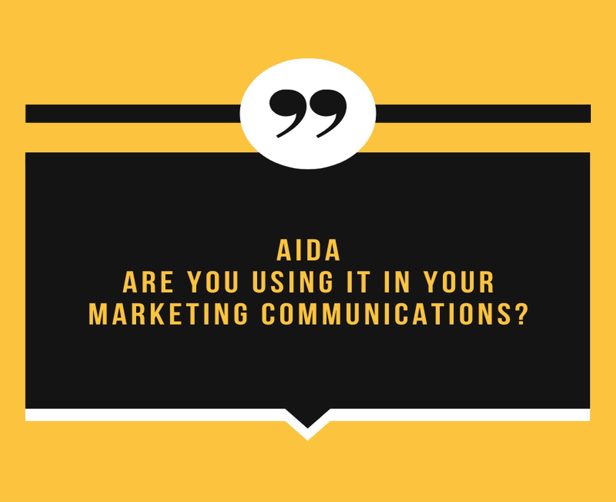 Why You Need AIDA